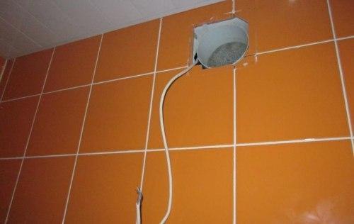 Как установить вентилятор в ванной, изображение №6