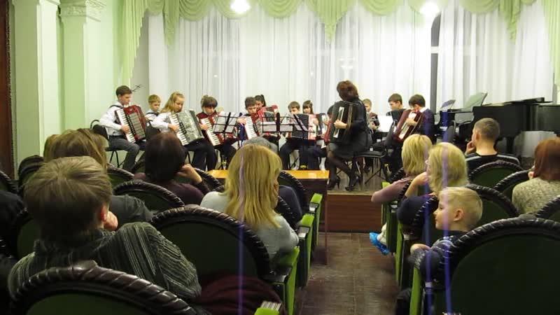 10 Оркестр баянистов и аккордионистов