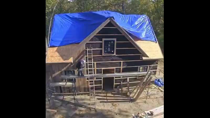 Строительство дома за рубежом в одной минуте