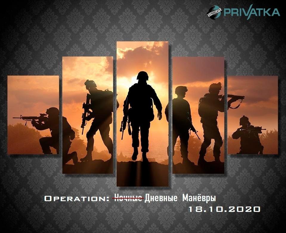 Афиша Владивосток Operation: Дневные манёвры