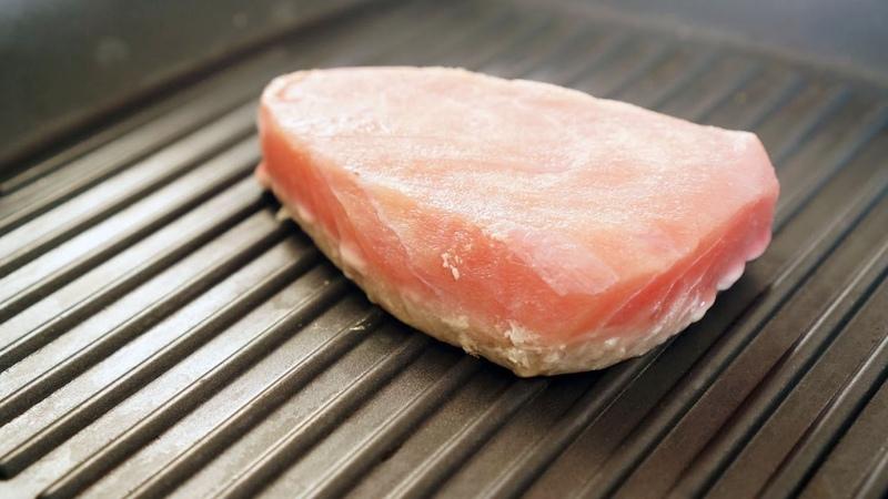 Как приготовить стейк из Тунца от Джейми Оливера