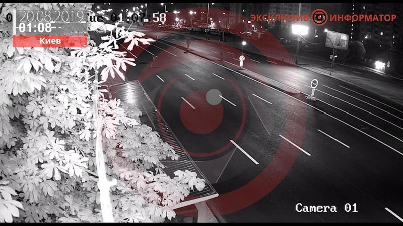 18 В Киеве Mercedes разорвал девушку: видео момента аварии и фото сбежавшего водителя