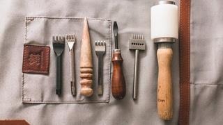 Базовый набор инструментов для работы с  натуральной кожей
