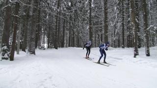 Лыжное первенство города