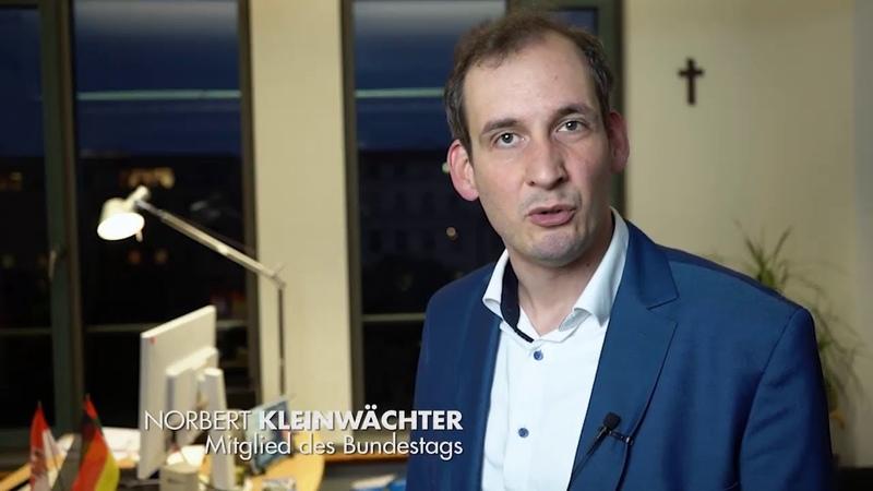 Ich verklage die öffentlich rechtlichen Sender GEZ . Norbert Kleinwächter AfD 11.11.2020