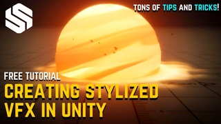 How To Make Stylized VFX with Unity URP & ShaderGraph [VALORANT SMOKE BOMB VFX]