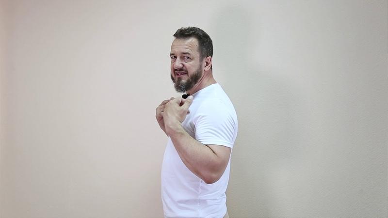 Разминка с Игорем Горюшинским для офисных работников
