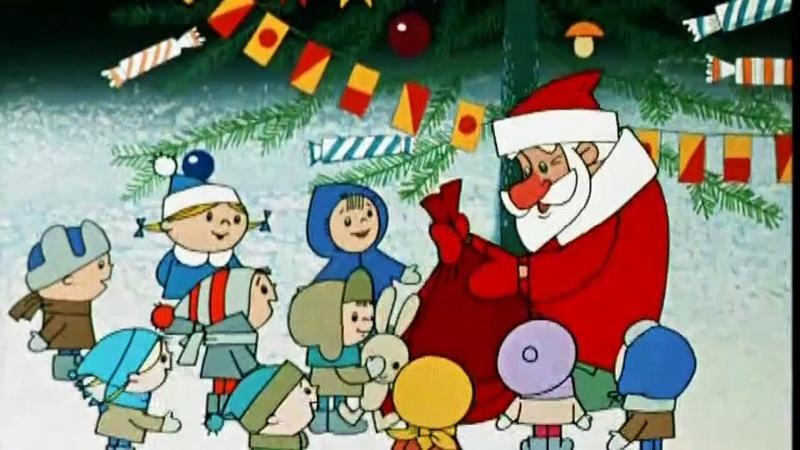 Дед Мороз и лето 1969 Мультфильм советский для детей смотреть онлайн
