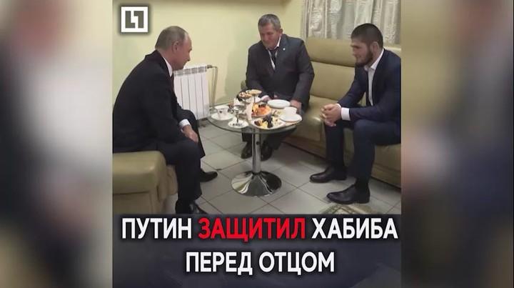 Life Новости on Instagram Буду просить твоего папу чтобы он не строго тебя наказывал Путин встретился в Нурмагомедовым и поздравил его с по