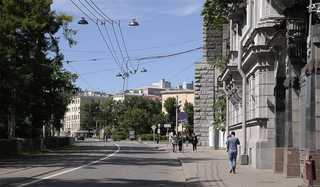 Кронверкский проспект в Петербурге 2020