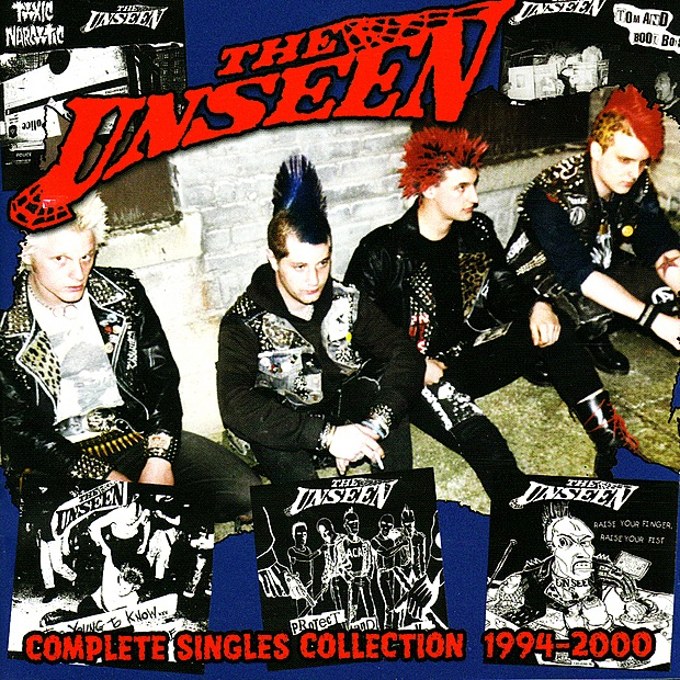 The Unseen album Complete Singles Collection 1994-2000