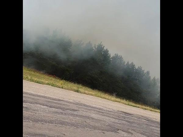 Саратовская область Аткарский район Пожар Пожарка