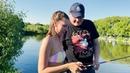 Девушка учит ловить рыбу. Форель на спиннинг. Блюда на садже. Рыбалка на Куваке Люди у которых клюет
