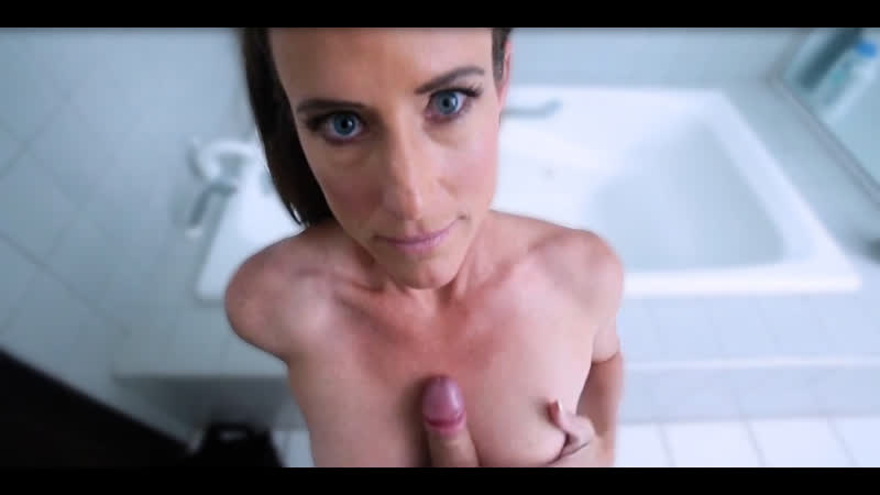 Sofie Marie is a dirty minded brunette who seems to like riding her step sons