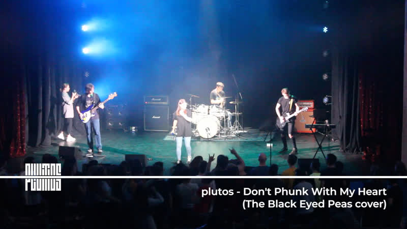 07 plutos Don't phunk with my heart The Black Eyed Peas cover