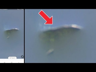 A huge UFO has been spotted hiding in the clouds in the Rochester New York sky