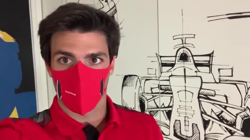 Карлос Сайнс впервые опробовал симулятор Ferrari