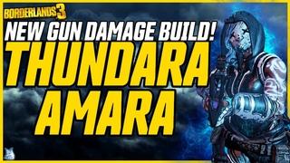 GUN DAMAGE AMARA IS BACK! 100M+ Phasecast (Solo All Content!) // Thundara Amara Build Borderlands 3