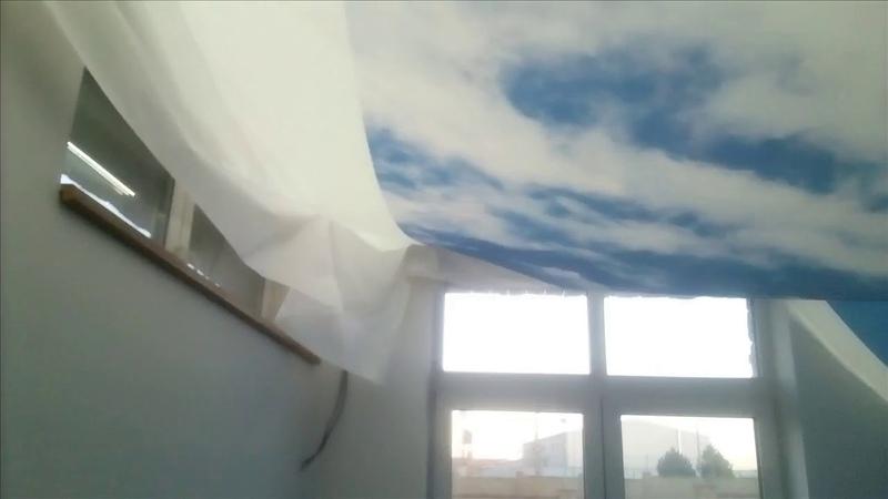 Napínané stropní podhledy Nebe