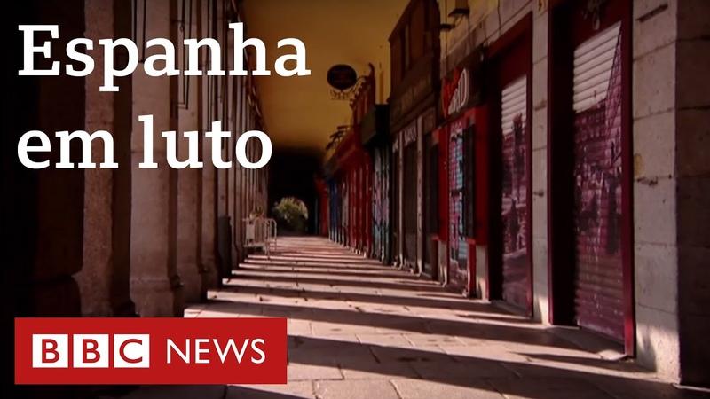 Coronavírus o desespero na Espanha em meio à pandemia