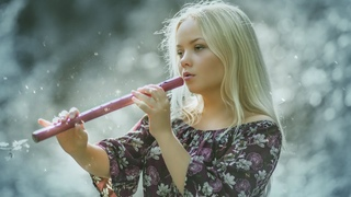 Heavenly Flute Instrumental - Relaxing Flute Music for Peace, Relax Mind Body & Soul, Stress Relief