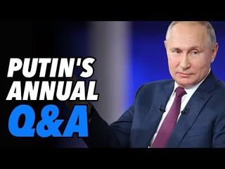 Putin's Annual Q&A: Hard line on NATO, Black Sea & Zelensky