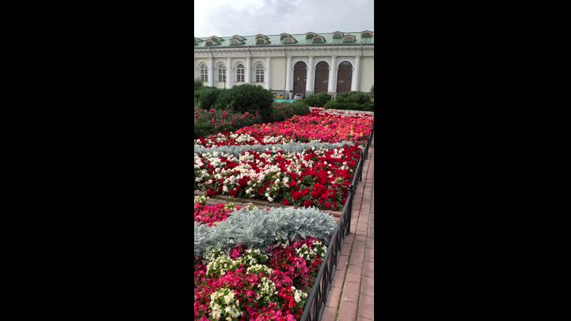 Александровский сад Москва