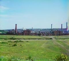 Панорама Александровского завода (фотография Прокудина-Горского нач. XX века)