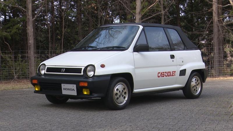 Honda Collection Hall 収蔵車両走行ビデオ City Cabriolet 1984年