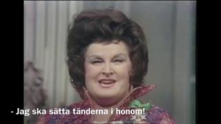 BIRGIT NILSSON - The Rudolf Bing Gala at The Met 1972