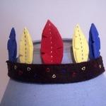 Корона для Индейской Принцессы. МК