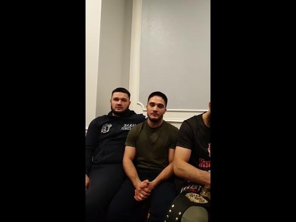 Мысли татарских бойцов Татарский Спортивный Союз