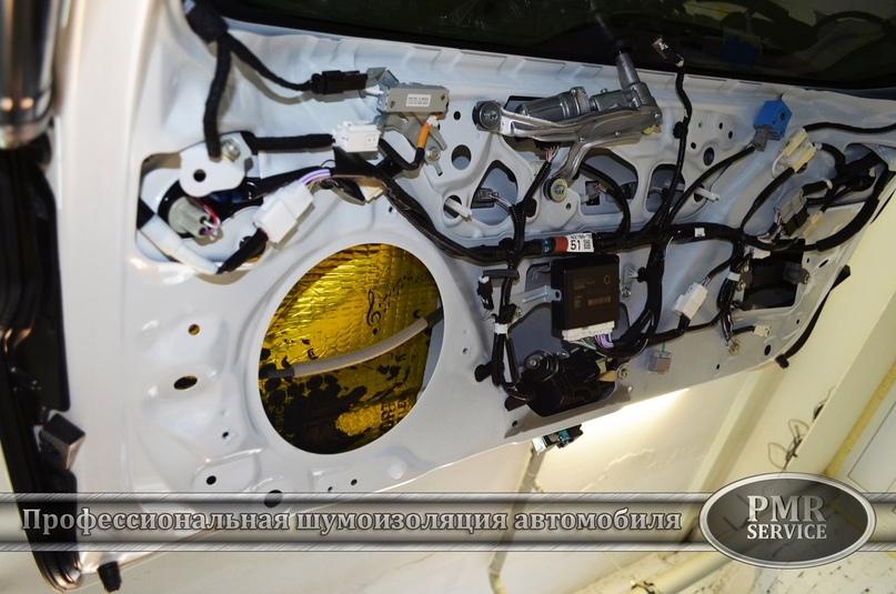 Комплексная шумоизоляция Lexus NX 200, изображение №13