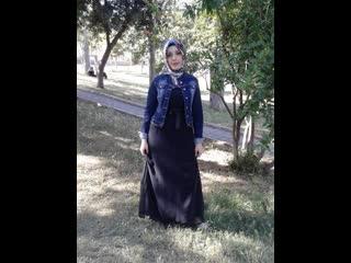 Horny amatur muslim with hijab