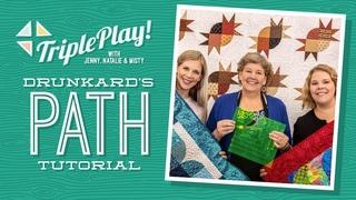 Triple Play: 3 New Drunkard's Path Projects with Jenny Doan, Natalie & Misty of Missouri Star