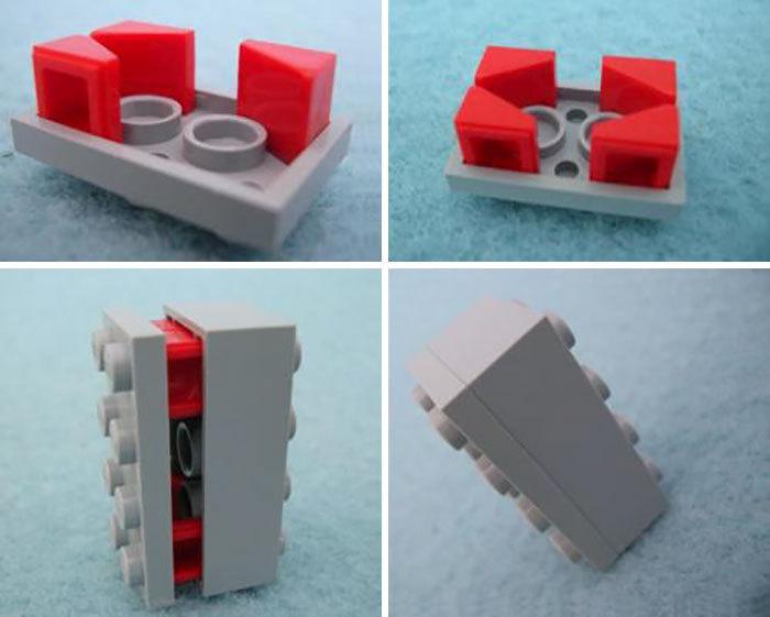 """""""Нелегальные"""" способы соединения деталей Лего"""