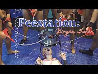 Azura Alii in Peestation: Ginger Tale (Gangbang, Pissing, Swallow) Pervix Video