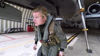 How US Female A-10 Fighter Pilot launch at Osan Air Base? Meet Capt Elizabeth Eastman