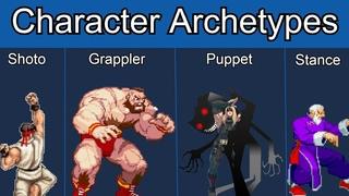 Character Archetypes in Fighting Games   Full Breakdown/Video Essay