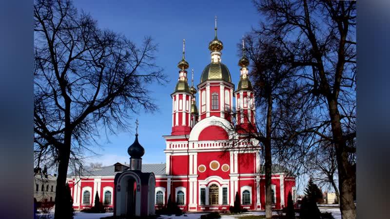 Видеолекция Архитектура собора Санаксарского монастыря