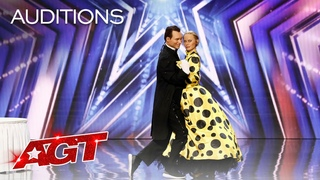 Pasha and Aliona SURPRISE The Judges With an Unexpected Performance - America's Got Talent 2021