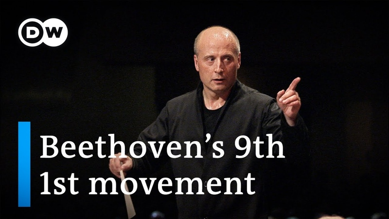 Beethoven's Symphony No 9 in D minor Op 125 1st movement conducted by Paavo Järvi