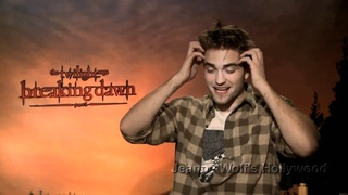 Breaking Dawn P1 Press Junket - Robert Pattinson Interview