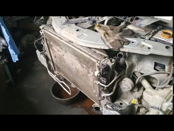 Вот почему необходимо чистить радиаторы и интеркулер Опель Антара 2 2 Дизель Opel Antara 2 2 CDTI