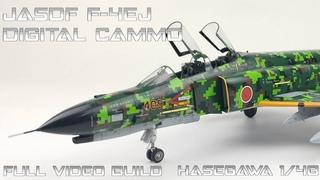 FULL VIDEO BUILD Hasegawa 1/48 JASDF F 4EJ Digital Cammo