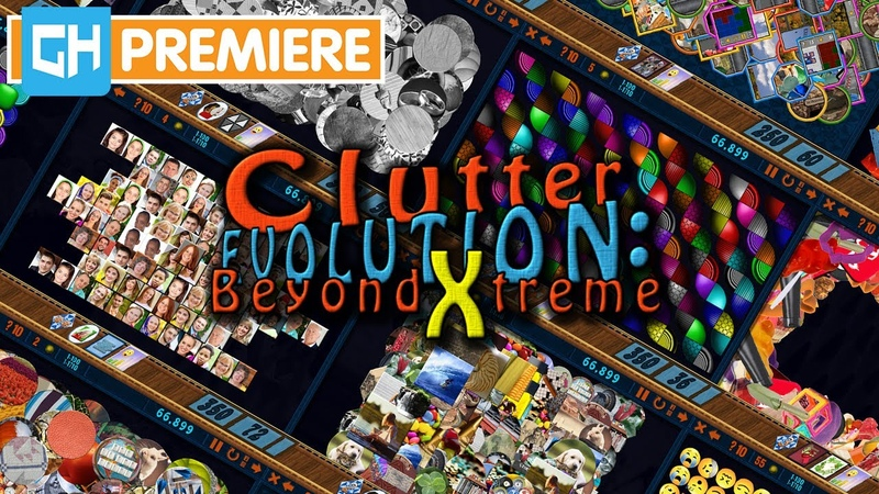 Evolve Your Hidden Object Game Clutter Evolution Beyond Xtreme GameHouse Premiere Trailer