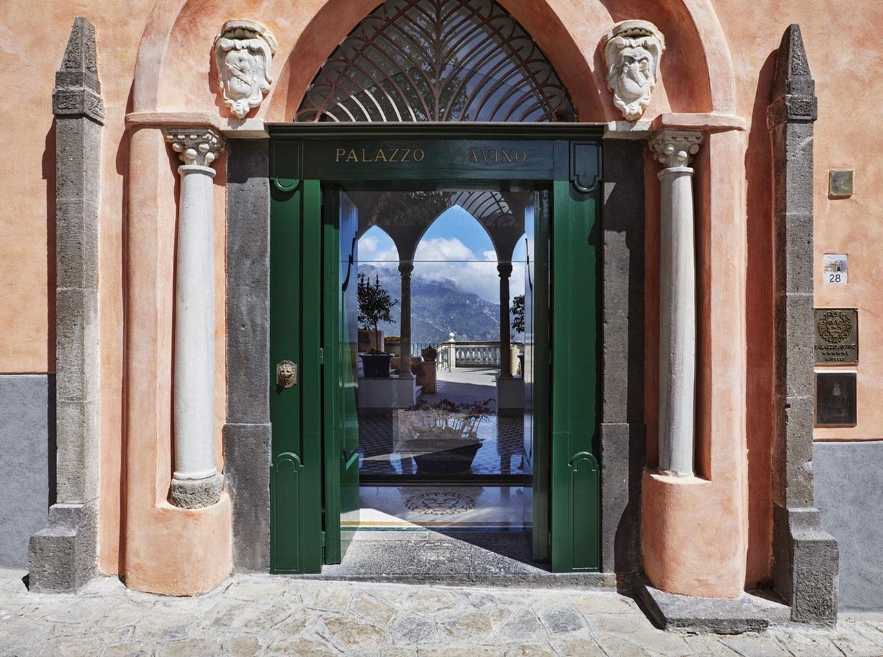 Кристина Челестино: отель Palazzo Avino в Равелло