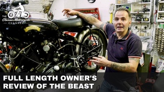 Living With The Vincent Black Shadow Motorcycle
