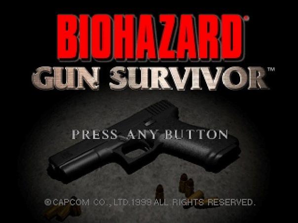 Resident Evil: Gun Survivor Demo,Trial,Promo.
