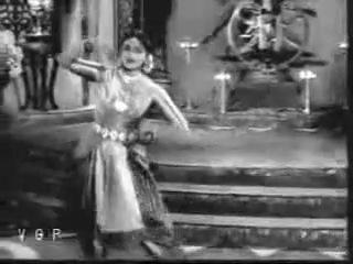 Bharatanatyam Raja Rajan Tamil 1958 Aadum Azhage Padmini and Lalitha